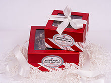Mother Mary's Toffee Company: Twice as Nice Red Gift Boxes