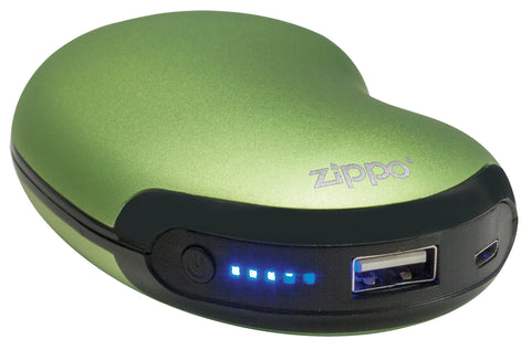 Zippo Heatbank 6-Hour Rechargeable Hand Warmer & Power Bank