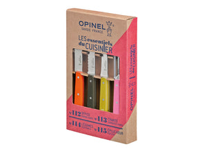 Opinel Fifties 4pc Kitchen Knife Set