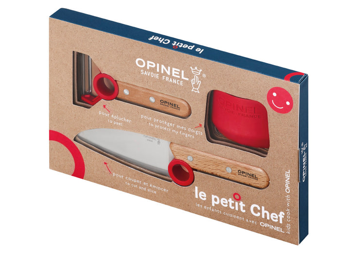Opinel Le Petit Chef Box Set