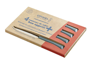 Opinel Bon Appetit + 4pc Table Knife Box Set - Anthracite