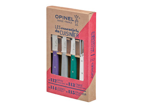 Opinel Art Deco 4pc Kitchen Knife Set