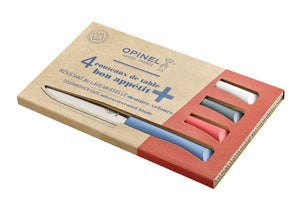 Opinel Bon Appetit + 4pc Table Knife Box Set - Primo