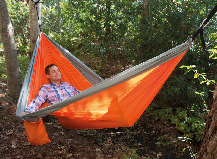 UST SlothCloth™ Hammock 2.0 - Orange/Grey