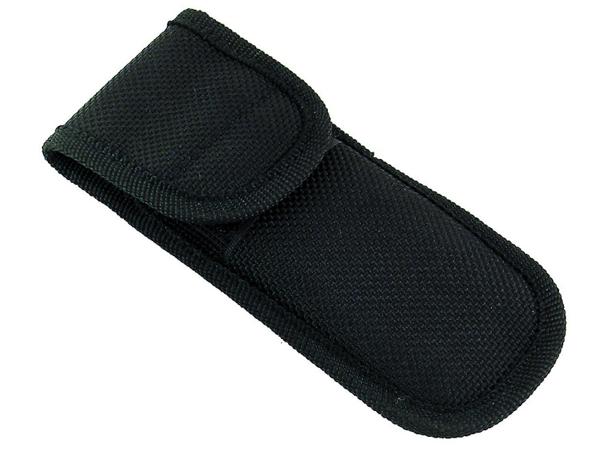 Whitby Black Nylon Pouch - 4.75""