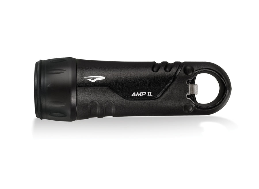 Princeton Tec Amp 1L LED Hand Torch - Black