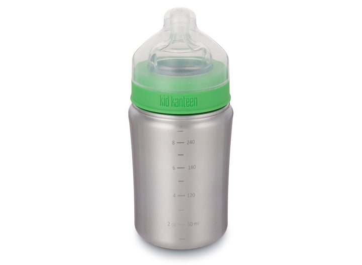 Klean Kanteen Baby Bottle 266ml - Brushed Stainless