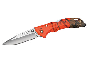 Buck Bantam BBW Knife - Mossy Oak Blaze Orange Camo