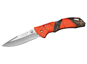 Buck Bantam BLW Knife - Mossy Oak Blaze Orange Camo