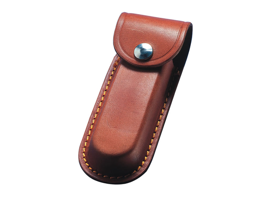 Whitby Brown Leather Sheath - 3""