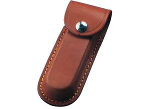 Whitby Brown Leather Sheath - 5""