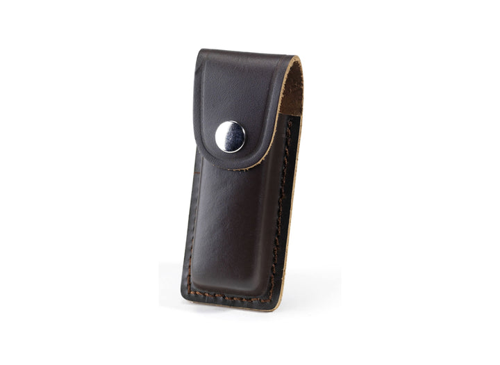 Whitby Dark Brown Leather Sheath - 4""