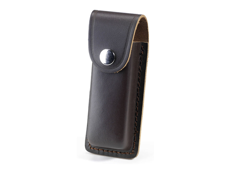 Whitby Dark Brown Leather Sheath - 4.5""