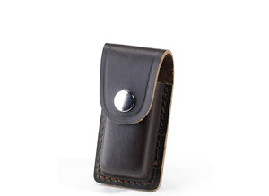 Whitby Dark Brown Leather Sheath - 3""