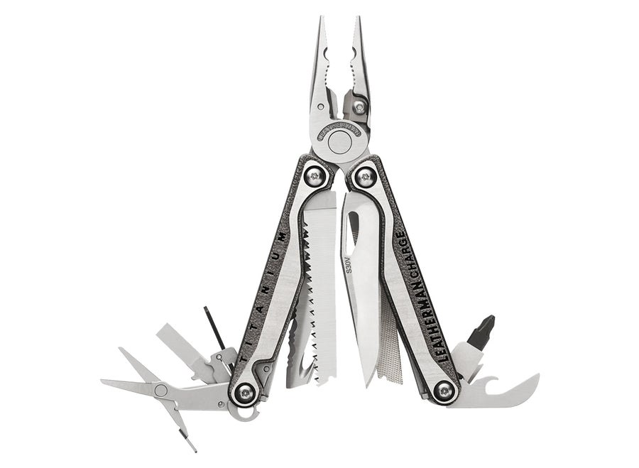 Leatherman Charge®+ TTi Multi-Tool w/ Nylon Sheath - Stainless Steel