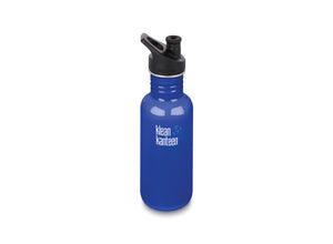 Klean Kanteen Classic w/ Sport Cap 532ml - Coastal Waters