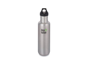 Klean Kanteen Classic w/ Loop Cap 800ml - Brushed Stainless