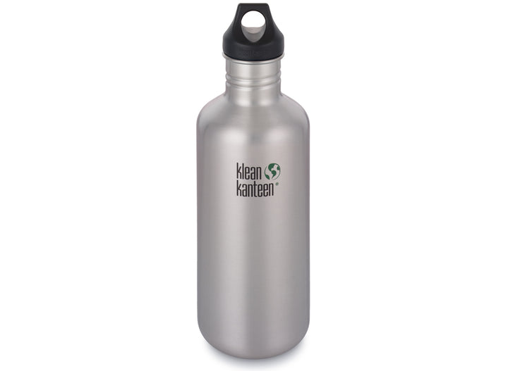 Klean Kanteen Classic w/ Loop Cap 1182ml - Brushed Stainless