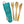 To-Go Ware Bamboo Kids Utensil Set - Berry