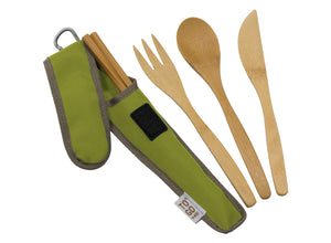 To-Go Ware Bamboo Utensil Set - Avocado