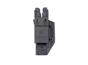 Clip & Carry Kydex Sheath: Gerber MP600 - Black Carbon Fibre