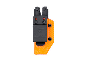 Clip & Carry Kydex Sheath: Gerber MP600 - Orange Carbon Fibre