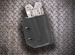 Clip & Carry Kydex Sheath: Gerber Suspension NXT - Black