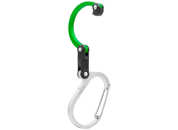 Heroclip Medium Gear Clip - Green Machine