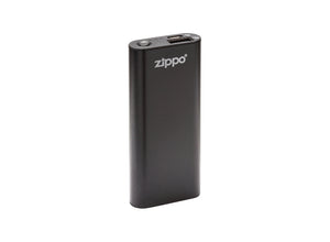 Zippo Heatbank 3-Hour Rechargeable Hand Warmer & Power Bank - Black
