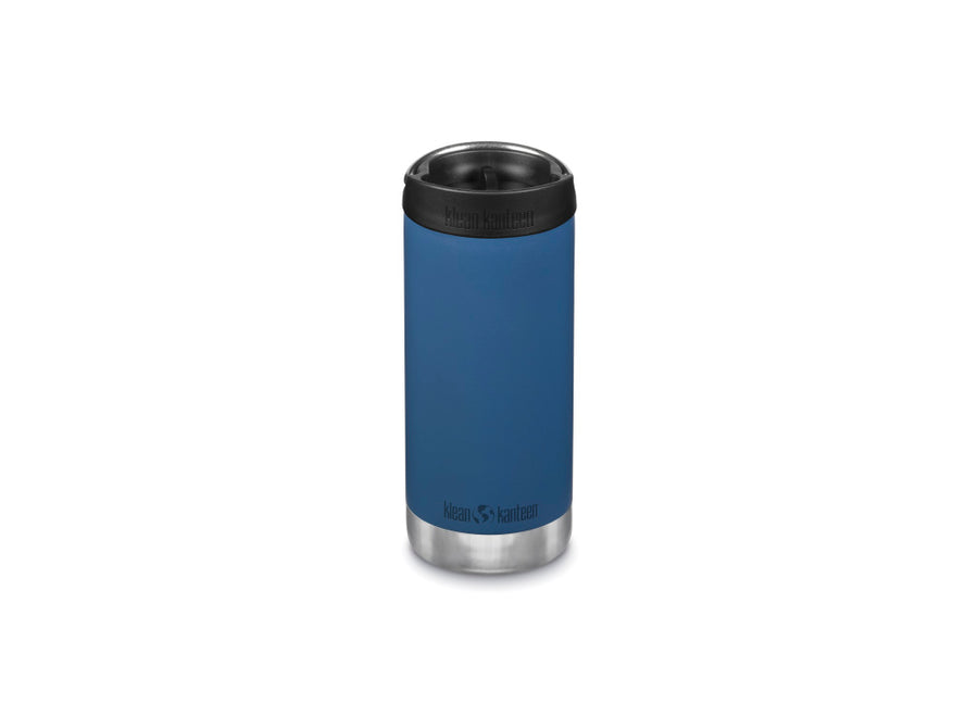 Klean Kanteen Insulated TKWide w/ Café Cap 355ml - Real Teal