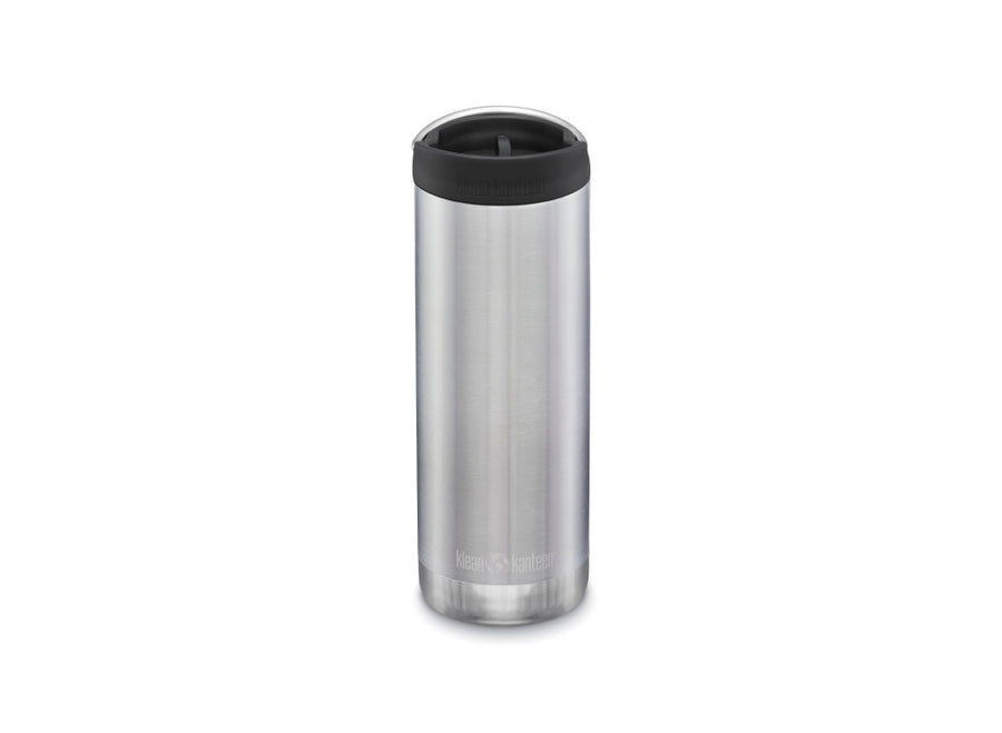 Klean Kanteen Insulated TKWide w/ Café Cap 473ml - Brushed Stainless