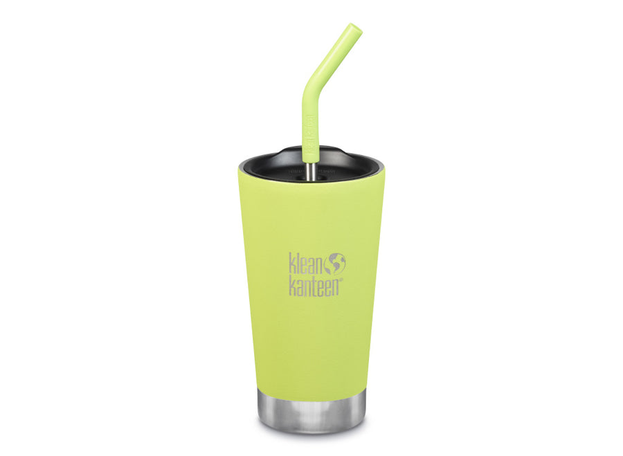 Klean Kanteen Insulated Tumbler w/ Straw 473ml - Juicy Pear