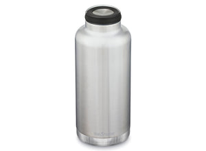 Klean Kanteen Insulated TKWide w/ Loop Cap 1900ml - Brushed Stainless