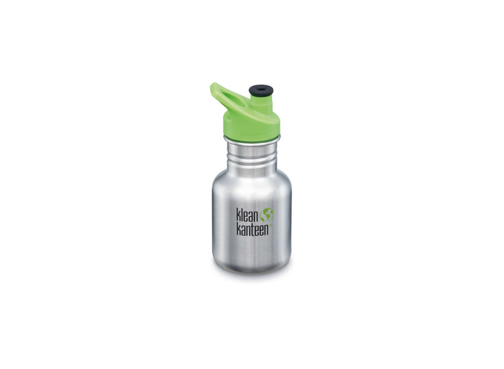 Klean Kanteen Kid Classic w/ Sport Cap 355ml - Brushed Stainless