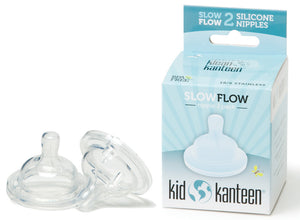 Klean Kanteen Baby Bottle Nipple - Slow Flow (2pk)