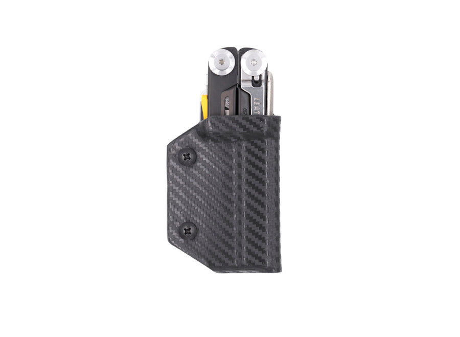 Clip & Carry Kydex Sheath: Leatherman Signal - Black Carbon Fibre