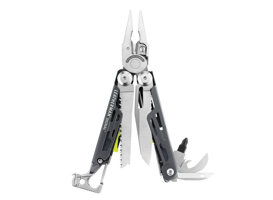 Leatherman Signal Multi-Tool w/Nylon Sheath - Grey Cerakote