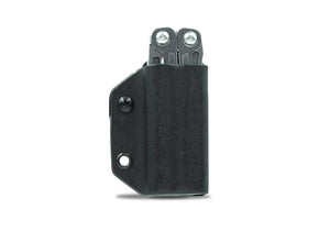 Clip & Carry Kydex Sheath: Leatherman Wingman / Sidekick / Rebar / Rev - Black