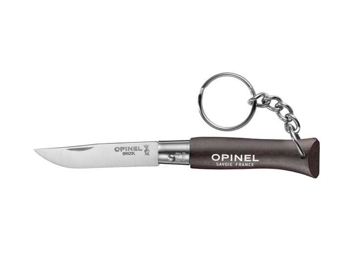 Opinel No.4 Colorama Non Locking Keyring Knife - Black