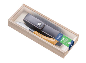 Opinel No.8 Mushroom Knife with Sheath Gift Set