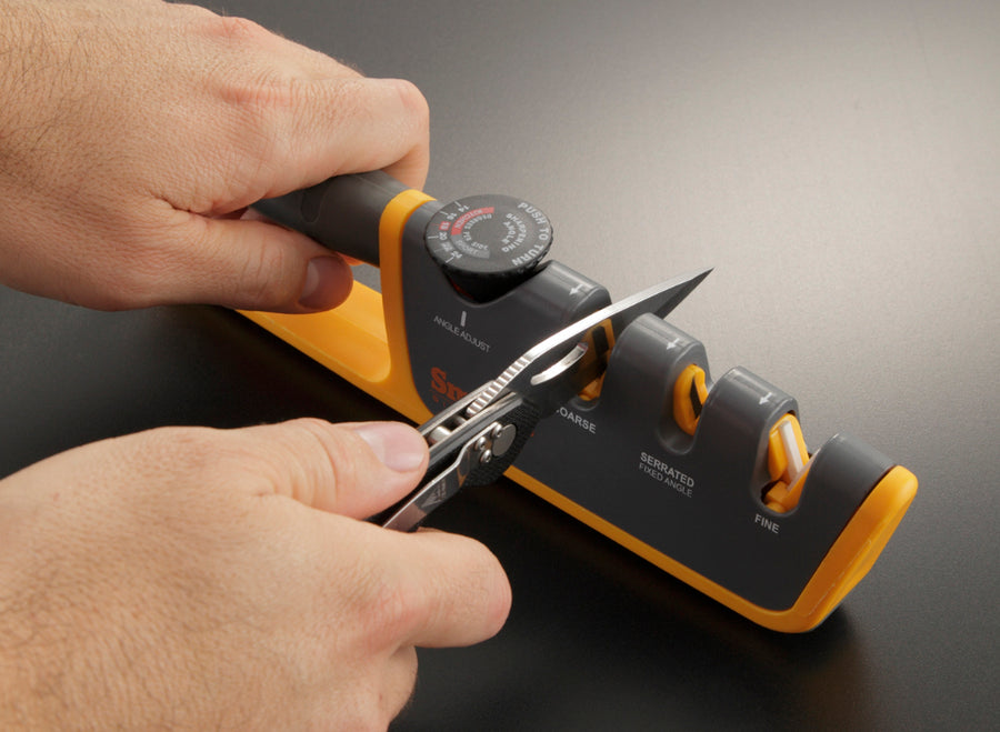 Smith's Adjustable Angle Pull-Thru Knife Sharpener