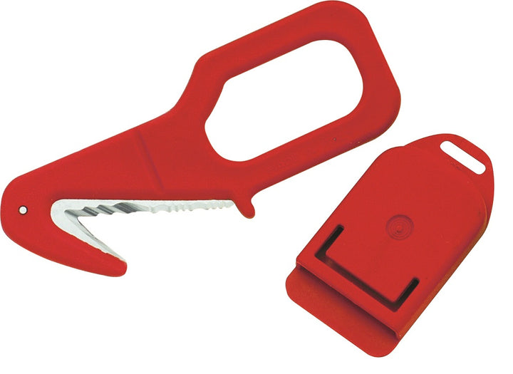Whitby Safety/Rescue Cutter - Red