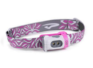 Princeton Tec Bot Kids LED Head Torch - White & Pink