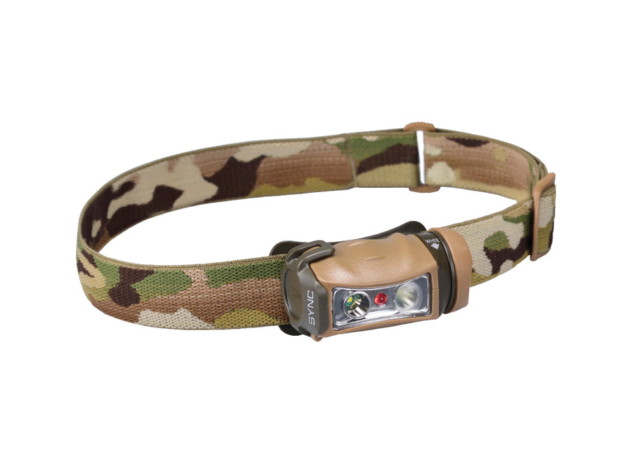 Princeton Tec Sync LED Head Torch - Multicam