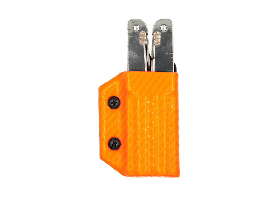 Clip & Carry Kydex Sheath: Victorinox SwissTool - Orange Carbon Fibre