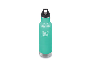 Klean Kanteen Insulated Classic w/ Loop Cap 592ml - Sea Crest