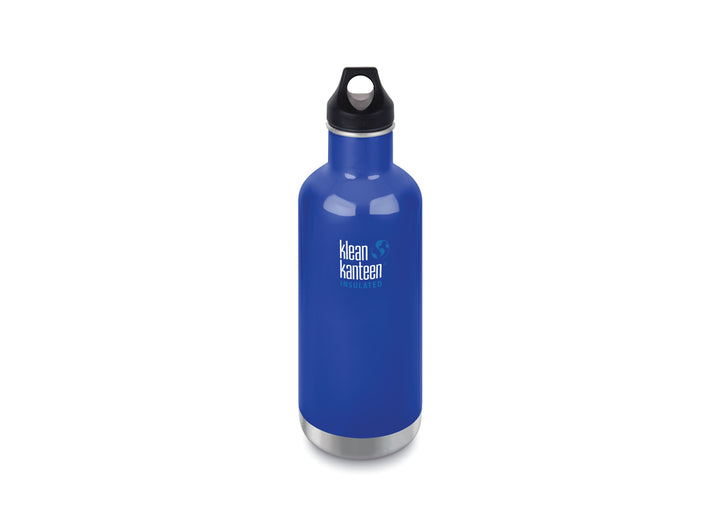 Klean Kanteen Insulated Classic w/ Loop Cap 946ml - Coastal Waters