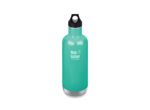 Klean Kanteen Insulated Classic w/ Loop Cap 946ml - Sea Crest