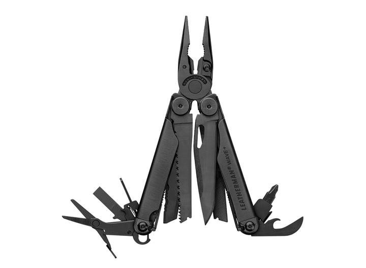 Leatherman Wave + Multi-Tool w/ MOLLE Sheath - Black Oxide
