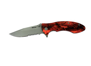 "Whitby Orange Camo Lock Knife (2.75"")"